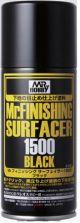 Mr.Hobby : Mr. Finishing Surfacer 1500 Black 170ml Spray B-526